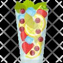 Mixed Fruit Juice Icon