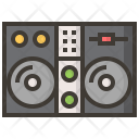 Mixer Player Instruments Icon