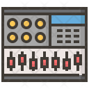 Mixer Instruments Music Icon