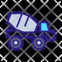 Mixer Cargo Construction Icon
