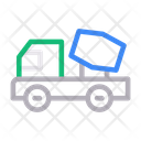 Mixer Dumber Truck Icon