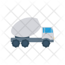 Mixer Vehicle Truck Icon