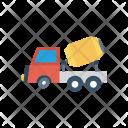 Mixer Vehicle Cement Icon