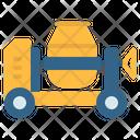 Concrete Mixer Machine Icon