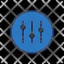 Control Mixer Adjustment Icon