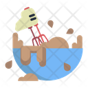 Mixer Baking Bowl Icon