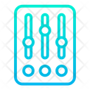 Equalizer Mixer Settings Icon