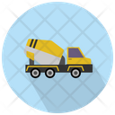 Mixer Construction Truck Construction Truck Transport Icon