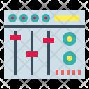 Mixer Equalizer Dj Icon