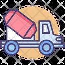 Mixer Truck Concrete Mixer Truck Cement Mixer Truck Icon