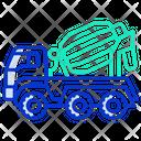 Mixer Truck Icon