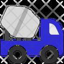 Mixer Truck Concrete Mixer Cement Mixer Icon