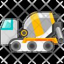 Mixer Truck Concrete Truck Concrete Mixer Icon