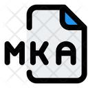 Mka File Audio File Audio Format Icon