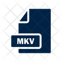 Mkv File Format Icon