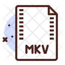 Mkv File Mkv Format File Mkv Icon