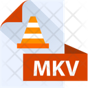 Mkv File Mkv File Format Icon