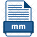 Mm file format Icon