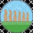 Moai Statue Mystical Moai Statues Icon