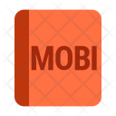 Mobi Book File Icon