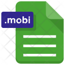 Mobi File Sheet Icon