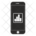 Mobiile graph Icon