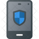 Mobile Smartphone Protection Icon