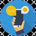Mobile Marketing Ecommerce Icon