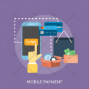 Mobile Payment Marketing Icon