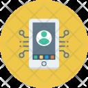 Mobile Network Smartphone Icon