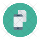 Mobile Tablet Document Icon