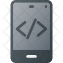 Mobile Source Code Icon