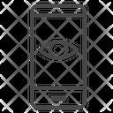Mobile Monitoring Smartphone Icon