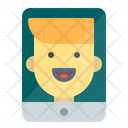 Mobile Video Call Facetime Icon