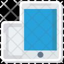 Mobile Phone Orientation Icon