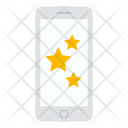 Mobile Rating Star Icon