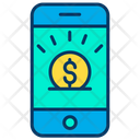 Mobile Online Investment Online Invest Icon