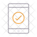 Mobile Complete Tested Icon