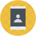 Mobile Video Conference Icon