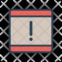 Mobile Phone Error Icon