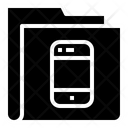Mobile Smartphone Folder Icon