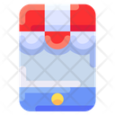 Mobile Shop Ecommerce Icon