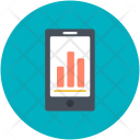 Mobile Charts Phone Icon