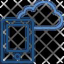 Cloud Storage Mobile Icon