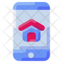 Mobile App House Icon