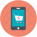 Mobile Device Cart Icon