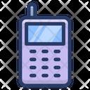 Mobile Walkie Talkie Satellite Phone Icon