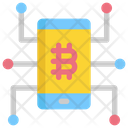 Mobile Cryptocurrency Icon