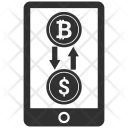 Mobile Coin Dollar Icon