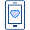 Valentines Day Mobile Love Icon
